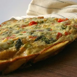 Russet & Roasted Vegetable Egg-White Frittata