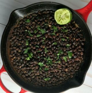 Citrus Simmered Black Beans
