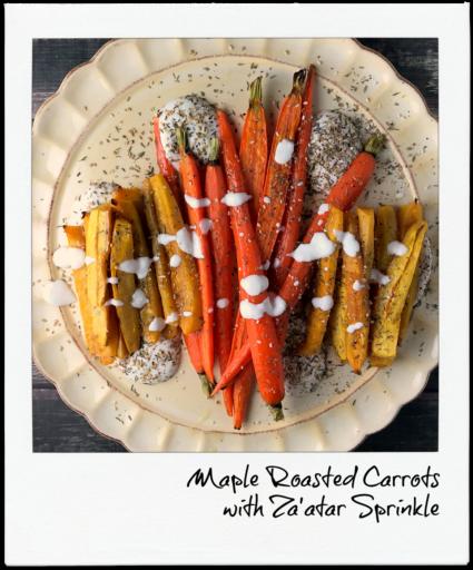 OSR Recipe: Maple Roasted Carrots