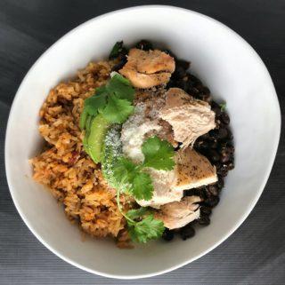 OSR Recipe: Chipotle Chicken Bowls