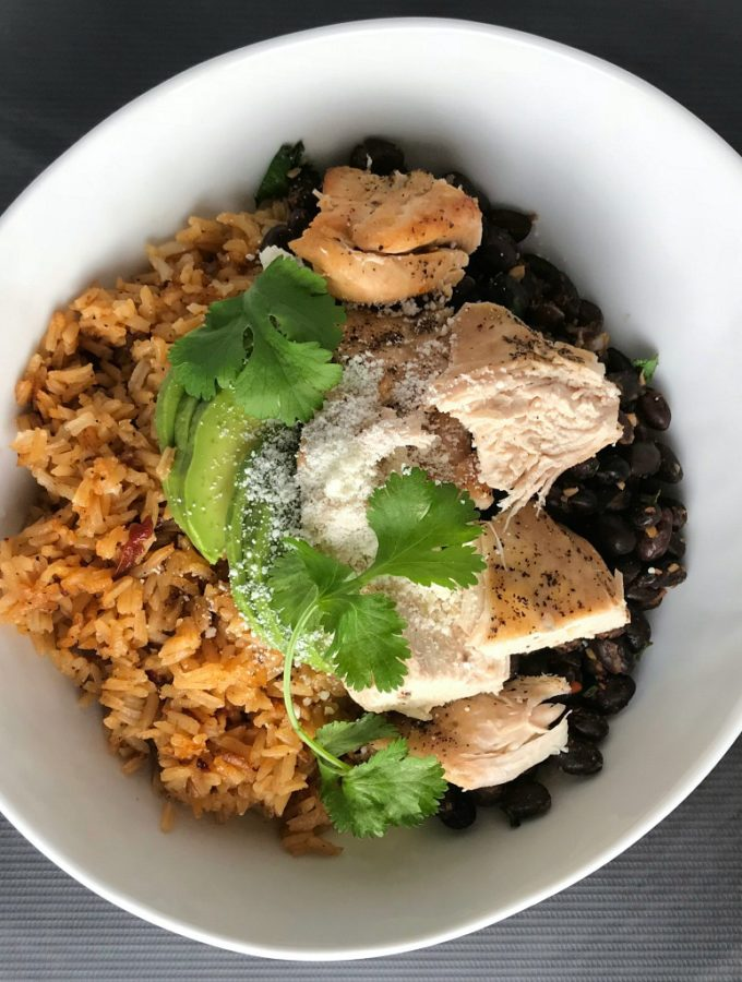 OSR Recipe: Chipotle Chicken Bowls