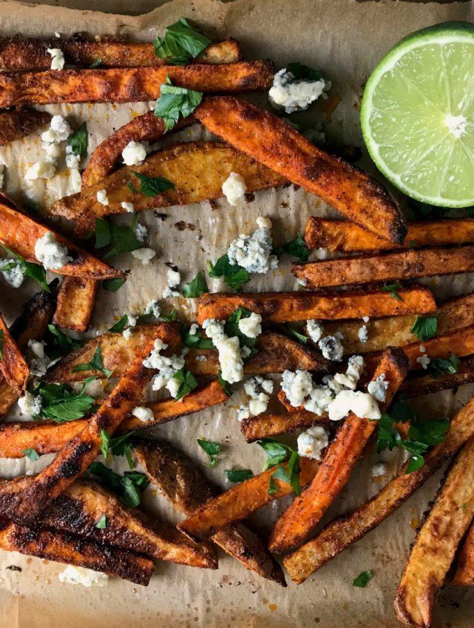 OSR Recipe: Baharat & Blue Oven Frites